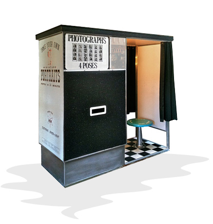Carnival Photo Booth - Classic Photo Booth Rental - Vintage